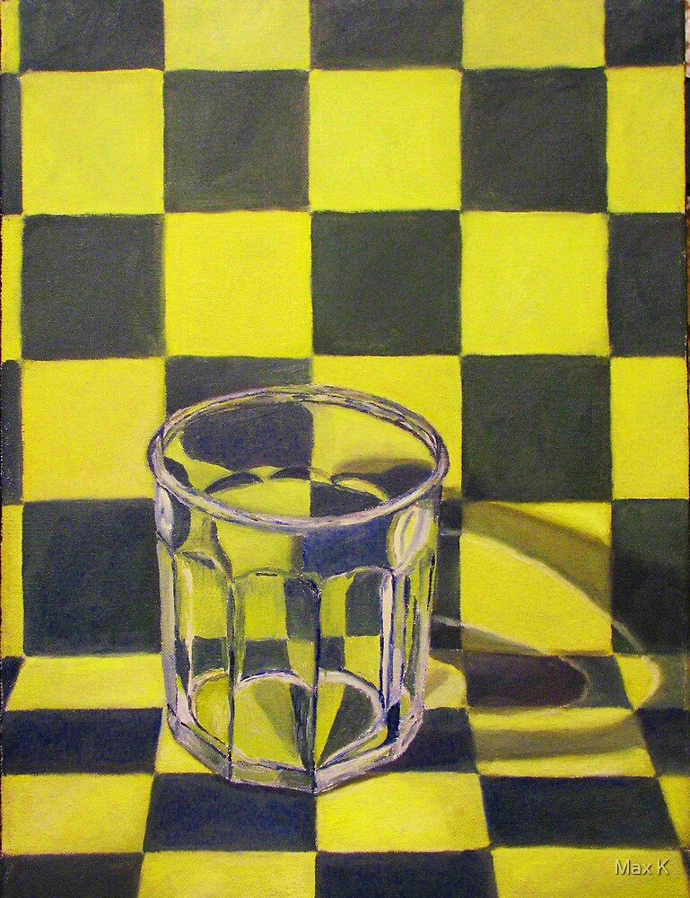Glass Cup by Max K