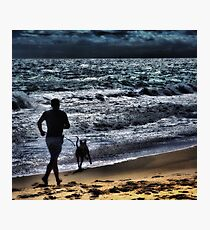Joggin Wit Dad Photographic Print