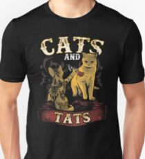 Cats And Tats Unisex T-Shirt