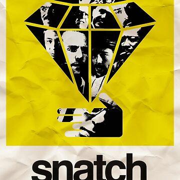 snatch minimalist poster by childoftheatom