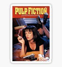Pulp Fiction Movie Poster Sticker