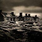 miners barracks (capel curig-north wales) by Raymond Kerr