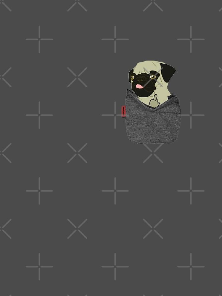 Pug You Pocket by darklordpug