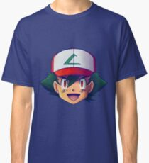 Ash Ketchum / Satoshi x7 (OS / Kanto - Johto version) Classic T-Shirt