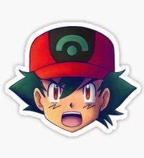 Ash Ketchum / Satoshi x7 (AG / Hoenn version) Sticker