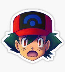 Ash Ketchum / Satoshi x7 (DP / Sinnoh version) Sticker