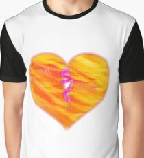 Binded Heart Graphic T-Shirt