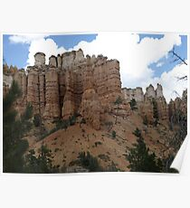 Southern Utah Rock Formations Poster