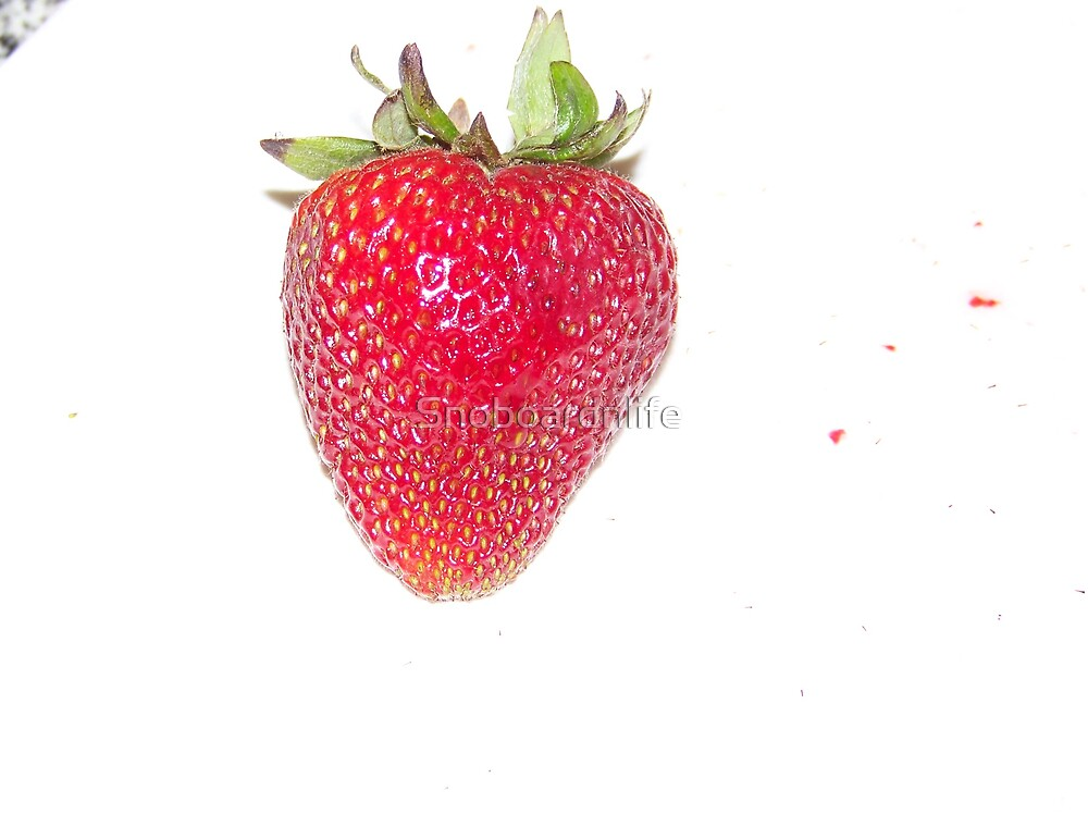 Perfect Strawberry by Snoboardnlife