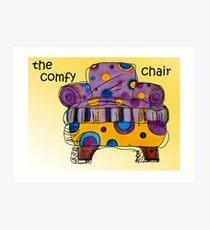 the comfy chair Art Print
