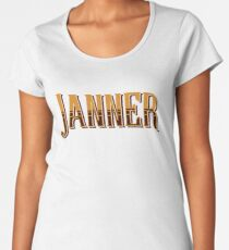 Janner, Devon Dialect, Devonian Slang, West Country Women's Premium T-Shirt