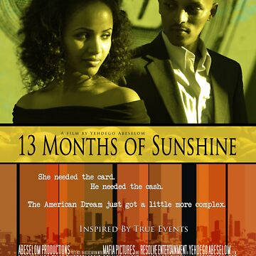 13 Months of Sunshine Movie Poster by jelewis8