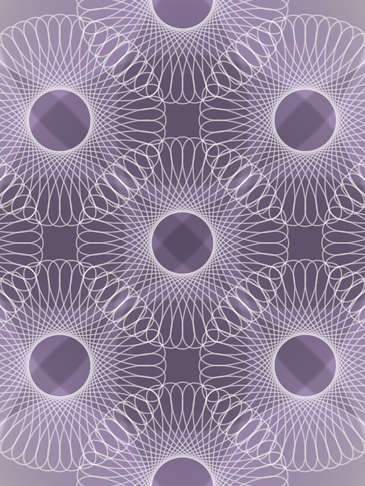 Circled in Shades of Amethyst Purple by AhUmDesign