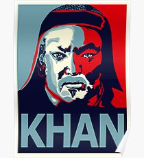 Genghis Khan: Posters | Redbubble