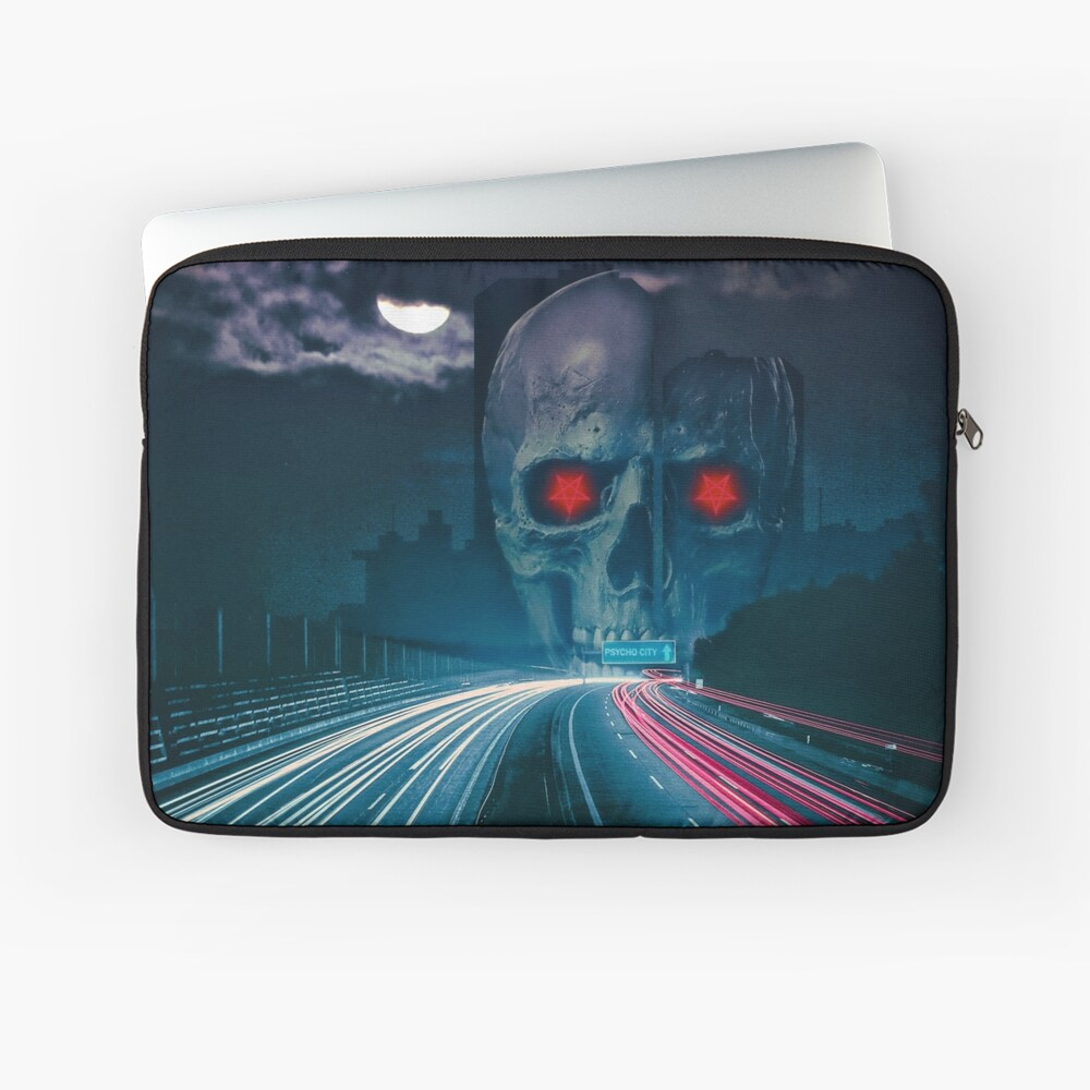 Psycho City EP Cover Laptop Sleeve