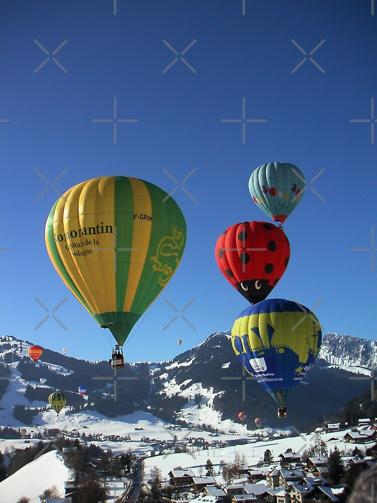 flying bubbles by poupoune
