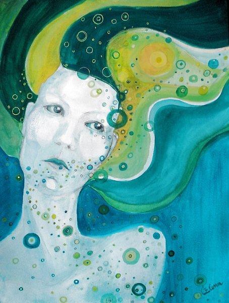 Retired mermaid by Elena C.