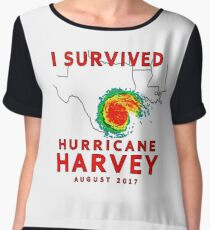 I Survived Hurricane Harvey 2017  Chiffon Top