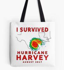 I Survived Hurricane Harvey 2017  Tote Bag