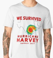We Survived Hurricane Harvey 2017 Men's Premium T-Shirt
