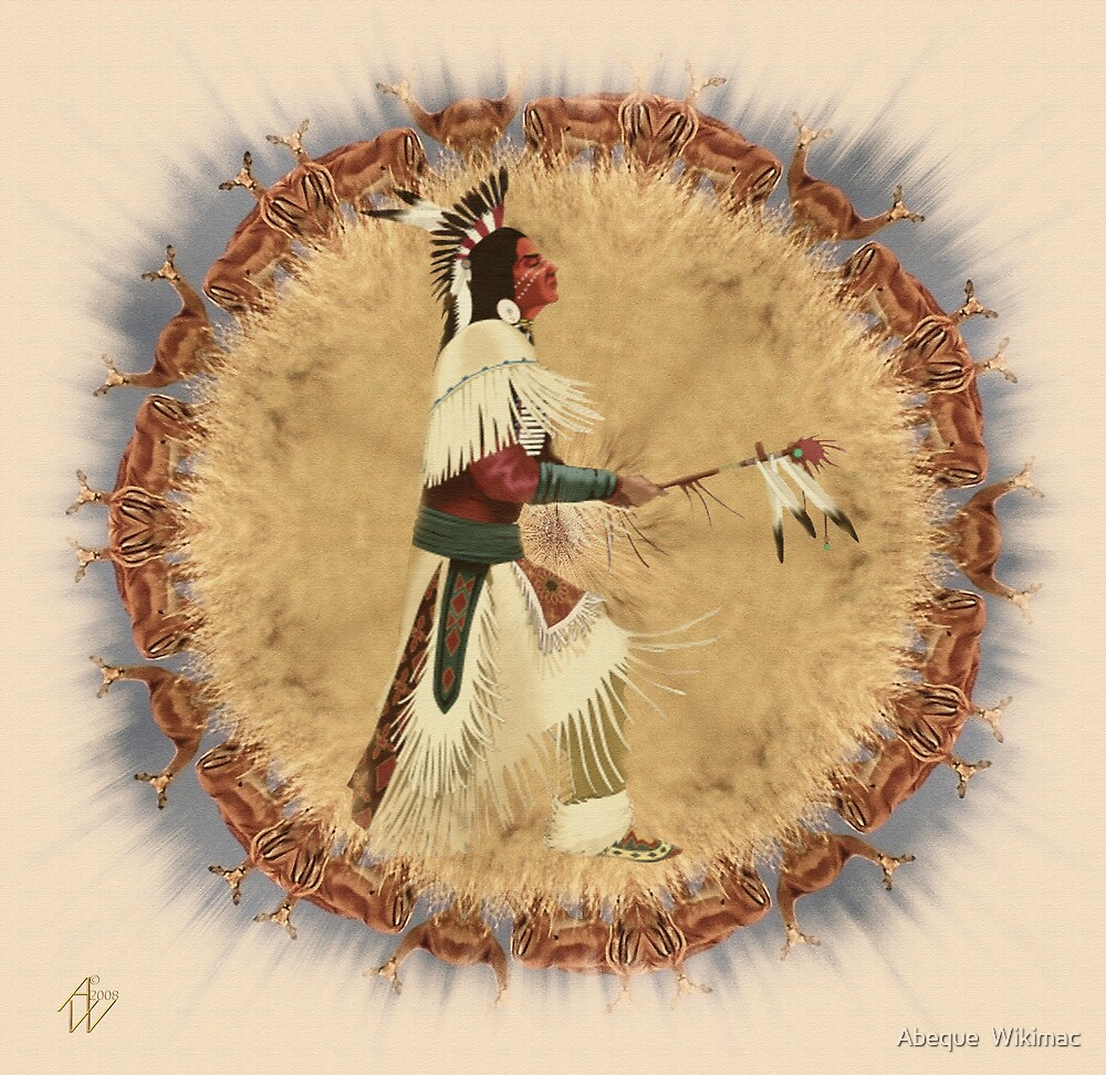 Calling Upon The Antelope Spirit by Abeque  Wikimac