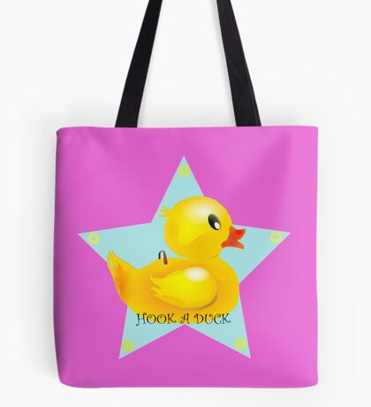 Well, Hook A Duck! Tote Bag