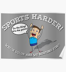 Sports Harder Poster
