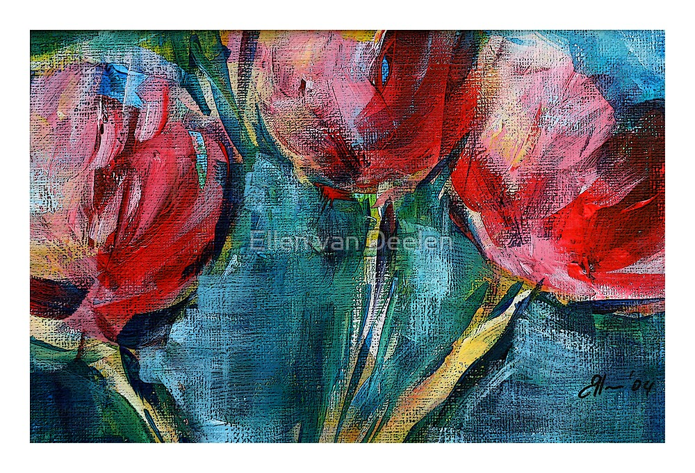 Tulips. by Ellen van Deelen