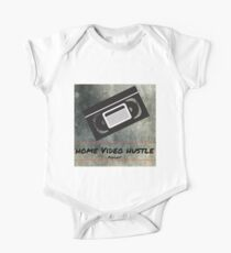 Home Video Hustle Podcast Logo One Piece - Short Sleeve