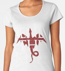 You Best Bend The Knee T-Shirt - Mother of Dragons T-shirt Women's Premium T-Shirt