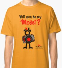Red - The New Guy - Will you be my Model ? Classic T-Shirt