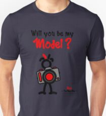 Red - The New Guy - Will you be my Model ? Unisex T-Shirt