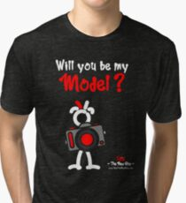 Red - The New Guy - Will you be my Model ? Tri-blend T-Shirt