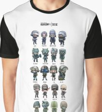 Rainbow six siege -Skins/perso Graphic T-Shirt