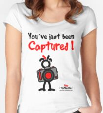 Red - The New Guy - You've just been Captured ! Women's Fitted Scoop T-Shirt