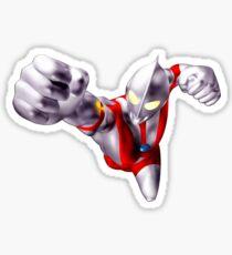 ultraman flying Sticker