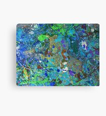RETREAT- ABSTRACT Canvas Print
