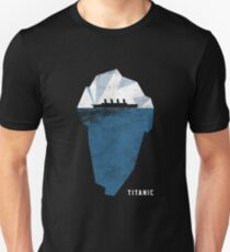 Titanic Poster Simple Design T-Shirt