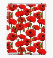 Poppy Pattern iPad Case/Skin