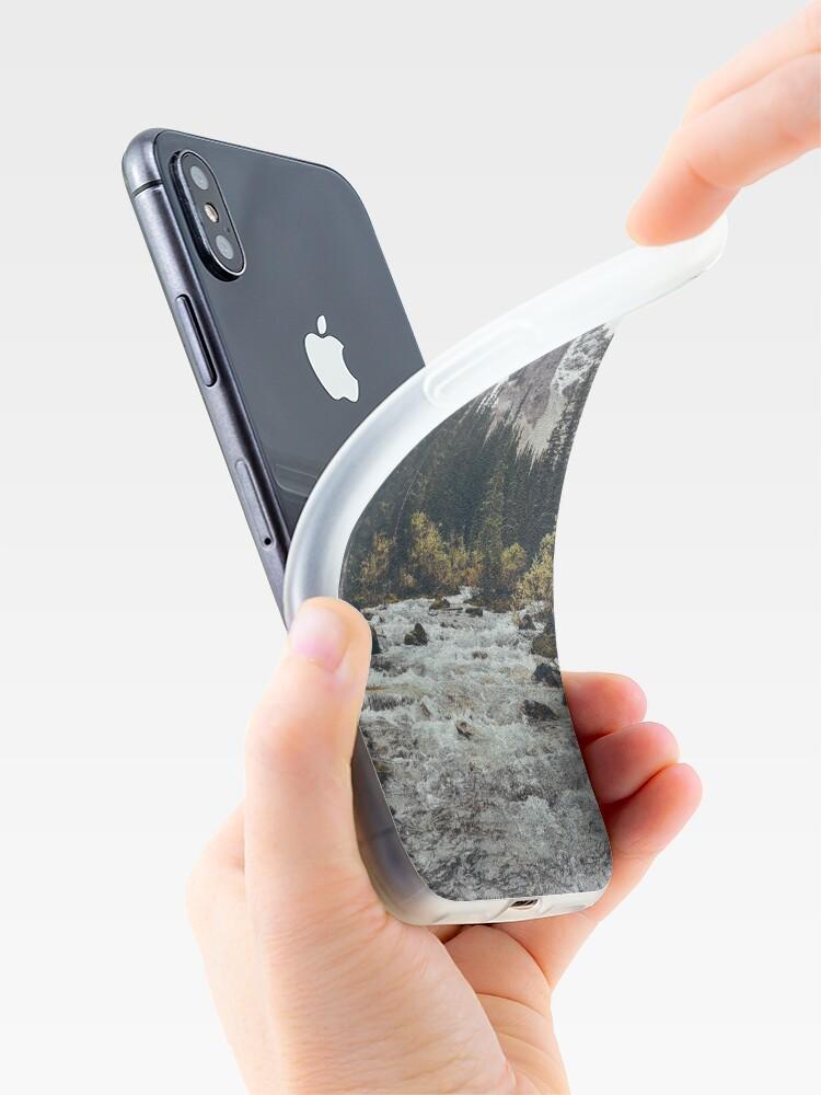 Vista alternativa de Vinilos y fundas para iPhone rápidos de montaña