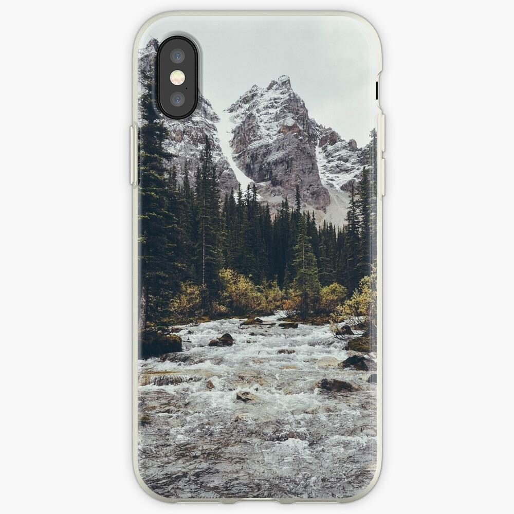 rápidos de montaña Vinilos y fundas para iPhone