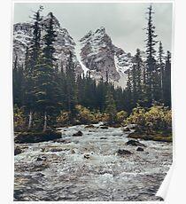 mountain rapids Poster