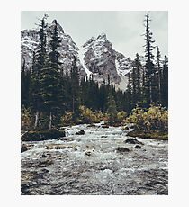 mountain rapids Photographic Print