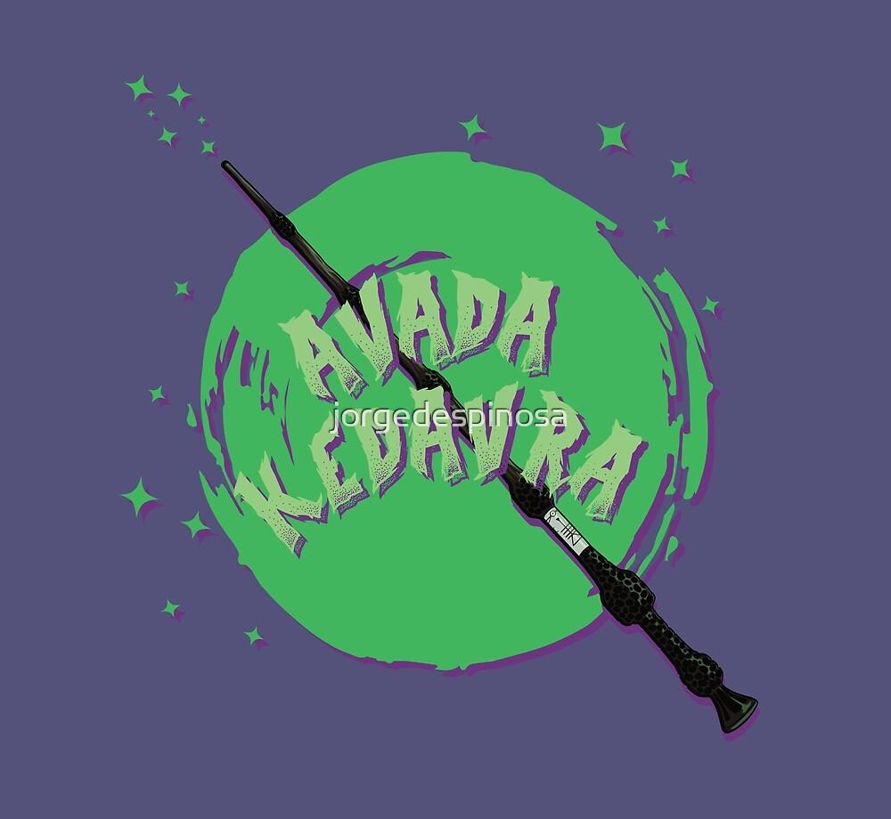 AVADA KEDAVRA by jorgedespinosa