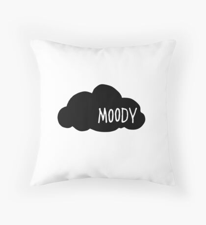 Moody Throw Pillow