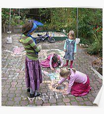 Backyard artists  Poster