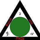 Goetia Triangle - Hebrew Version by Gilberto Strapazon
