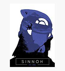 Sinnoh Region - Diamond Version Photographic Print