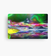 The after effects of Smoking GOOD weed Canvas Print
