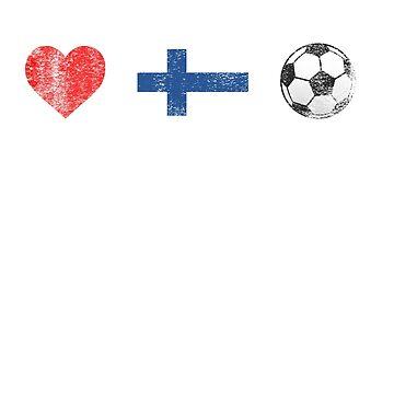 Finland Football Shirt - Finland Soccer Jersey by ozziwar